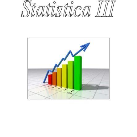 Statistica III