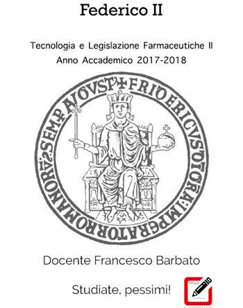 Tecnologia e Legislazione Farmaceutiche II -color-